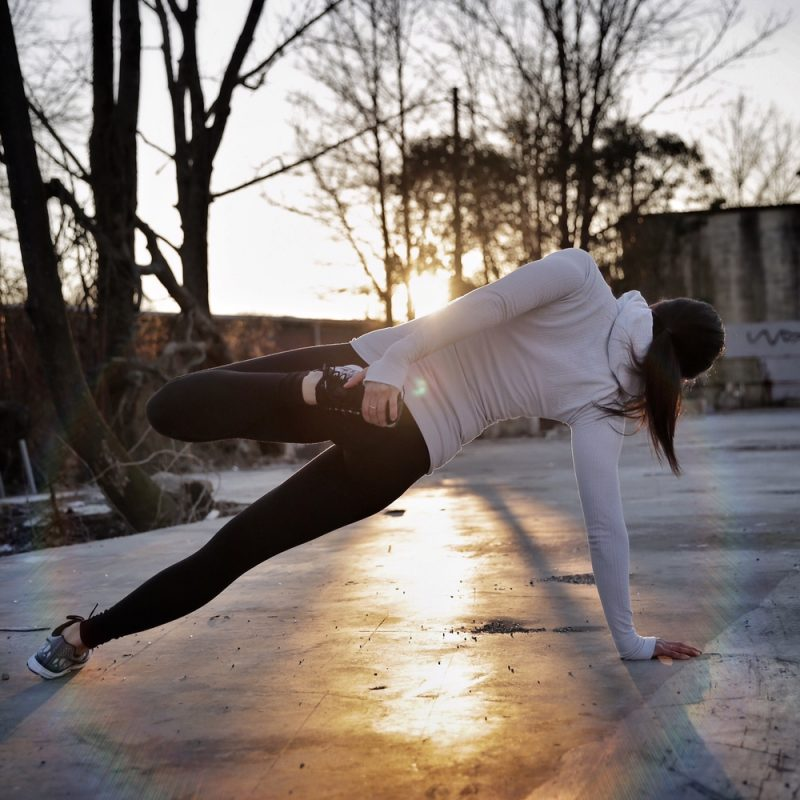 Lauren Schwaiger - Side Plank - Yoga