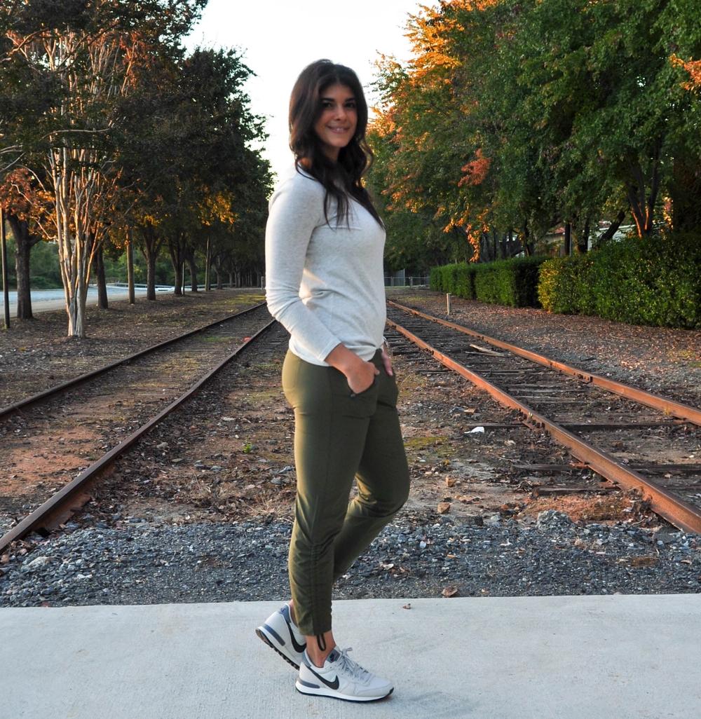7e32684f6ff9f Gym to Street    Athleta Aspire Ankle Pant - Lauren Schwaiger