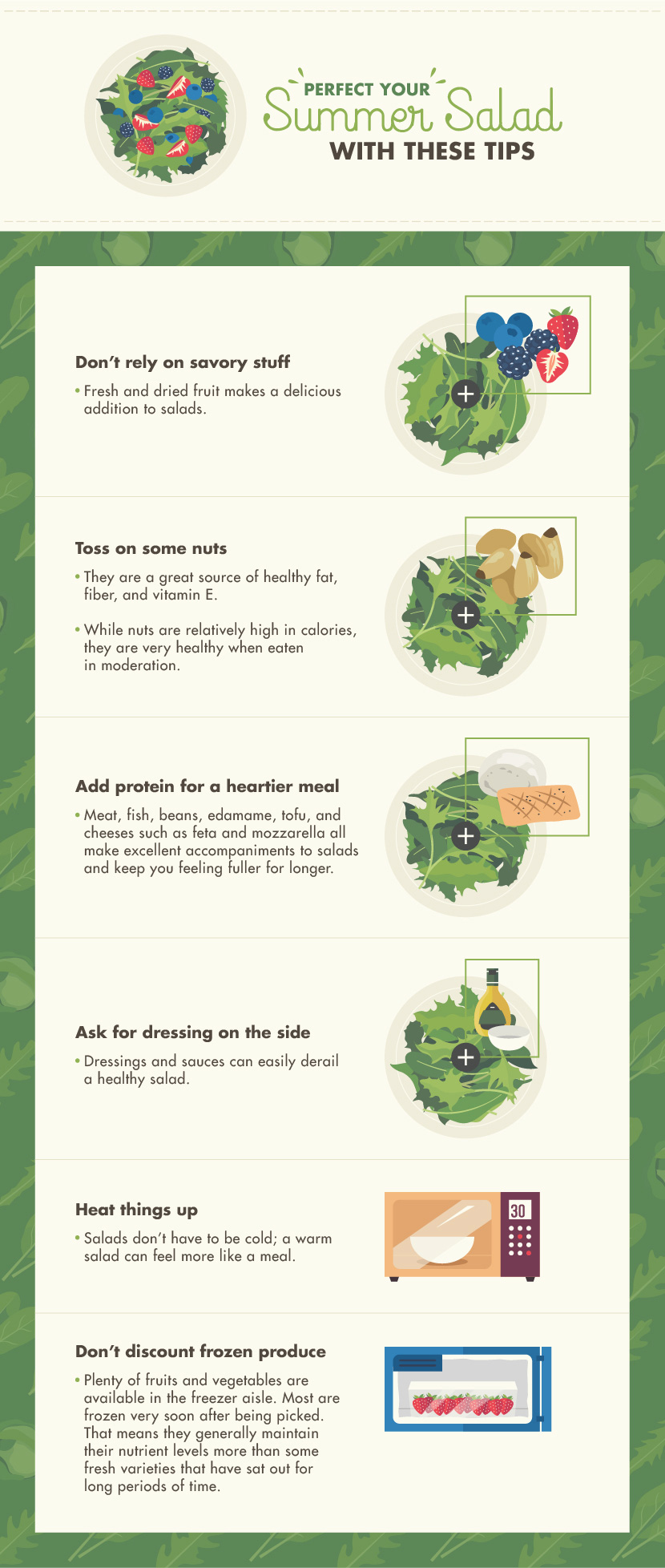 Summer Salad Tips