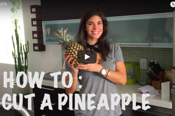 VLOG | How To: Cut a Pineapple