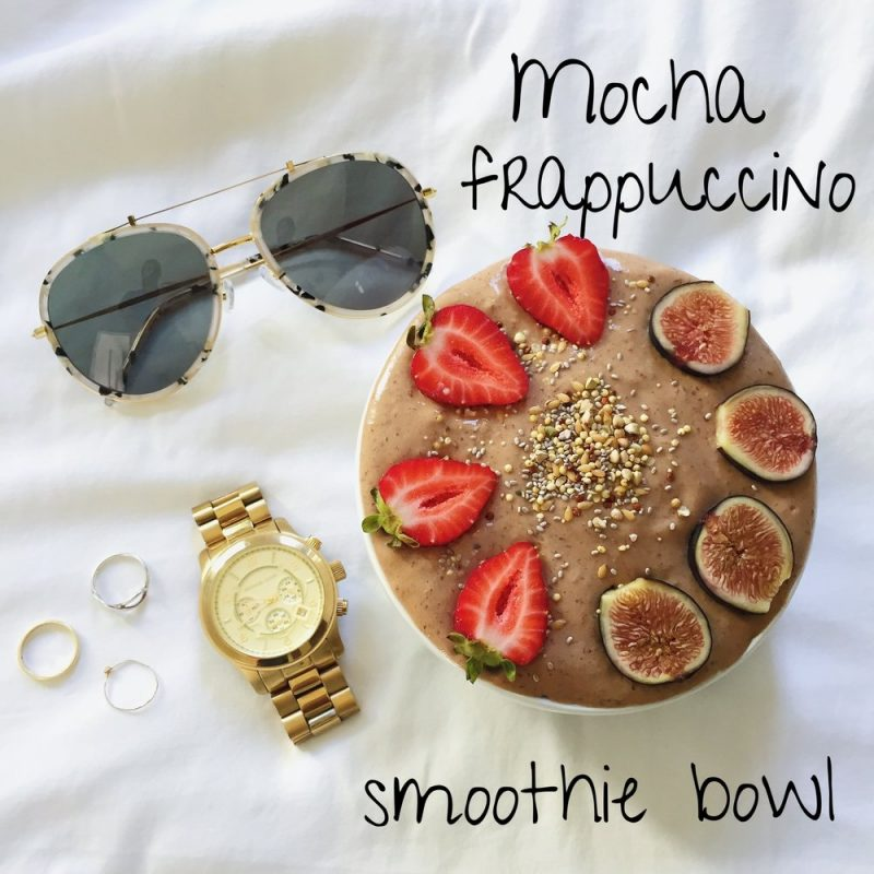 MOCHA FRAPPUCCINO SMOOTHIE BOWL