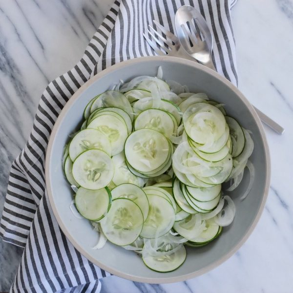 Austrian Cucumber Salad