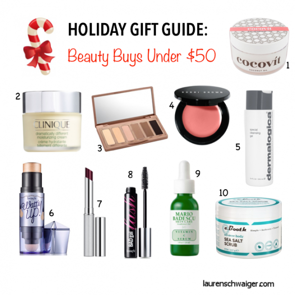 Holiday Gift Guide: Beauty Buys Under $50