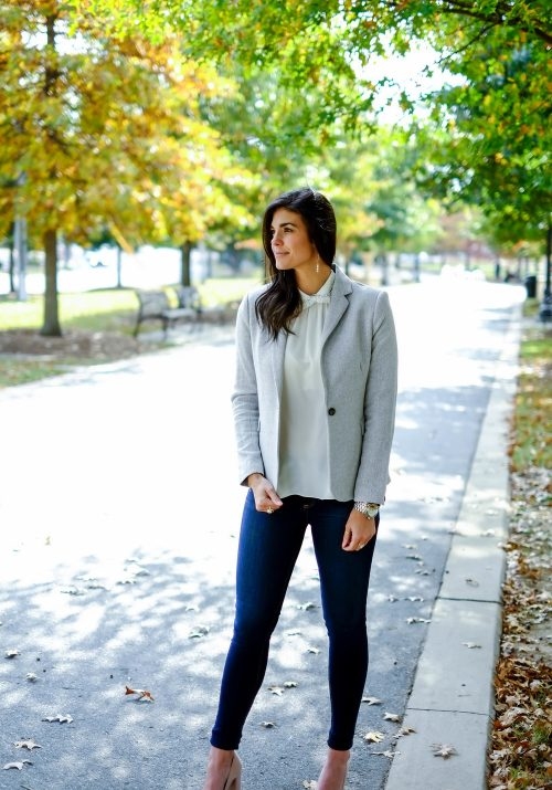 clients to cocktails - casual chic outfit - Lauren Schwaiger