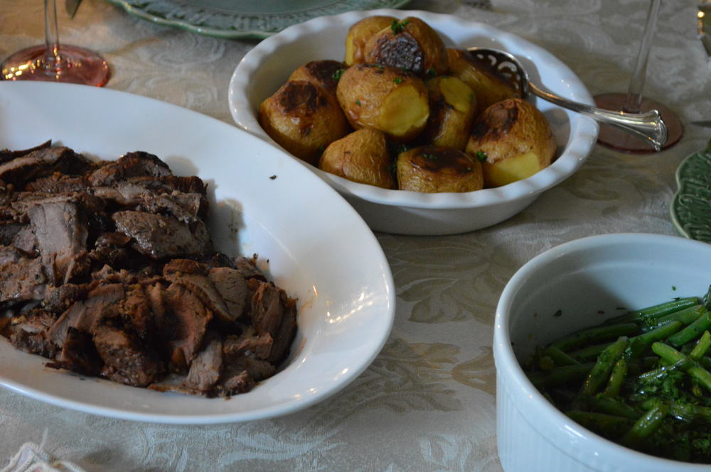 Easter Dinner - Grilled Lamb