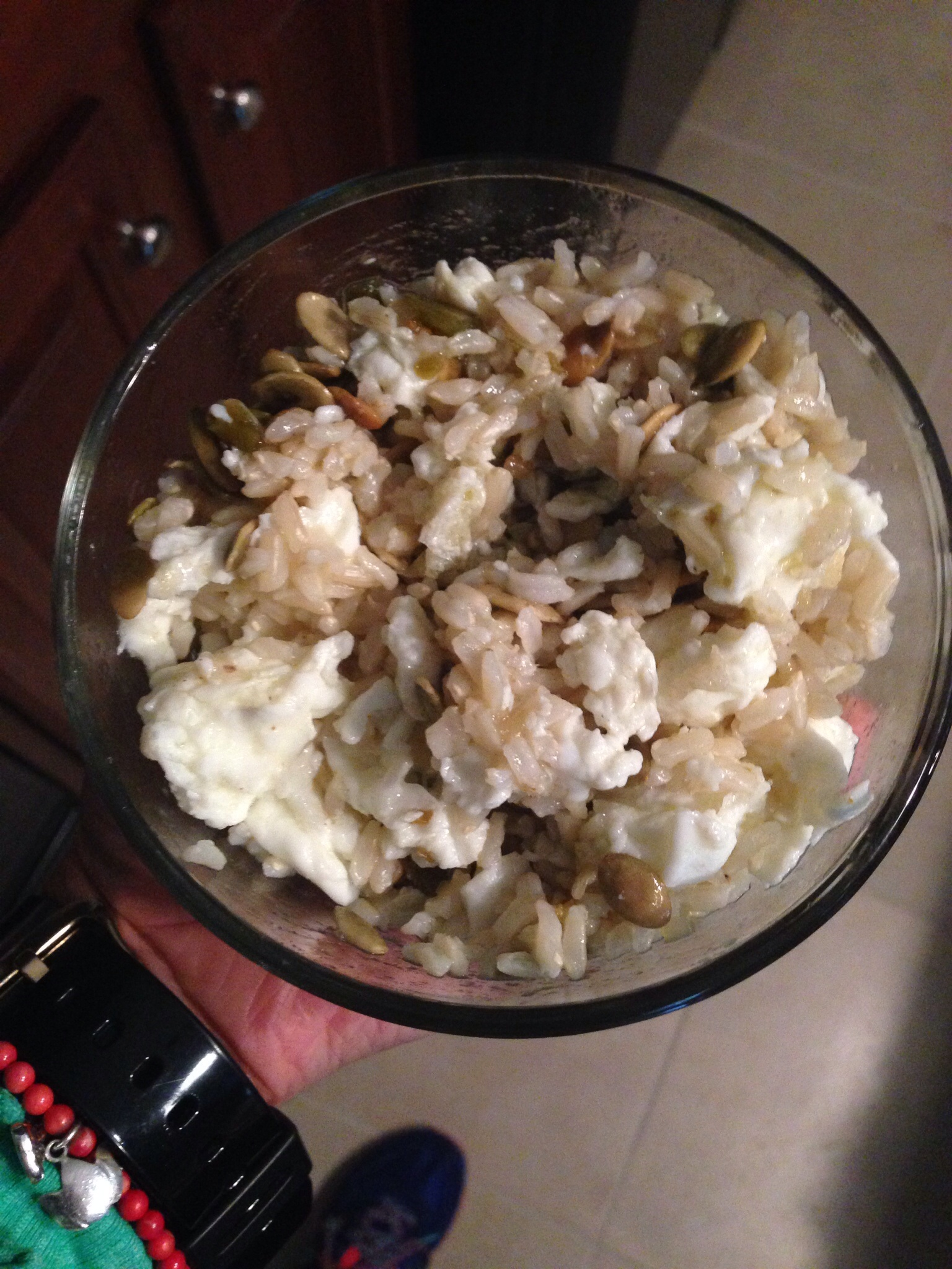 Egg Whites & Brown Rice