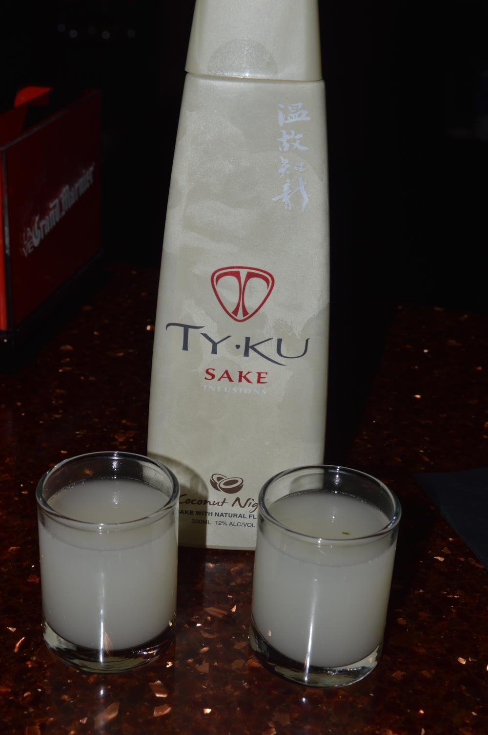 TY-KU Coconut Sake
