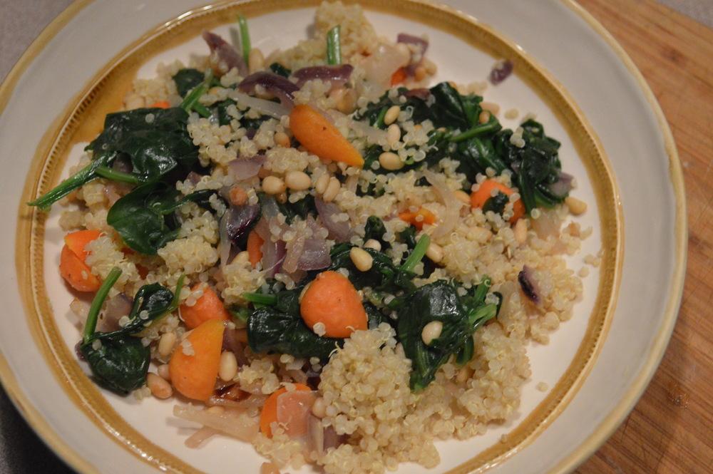 Quinoa + Veggies