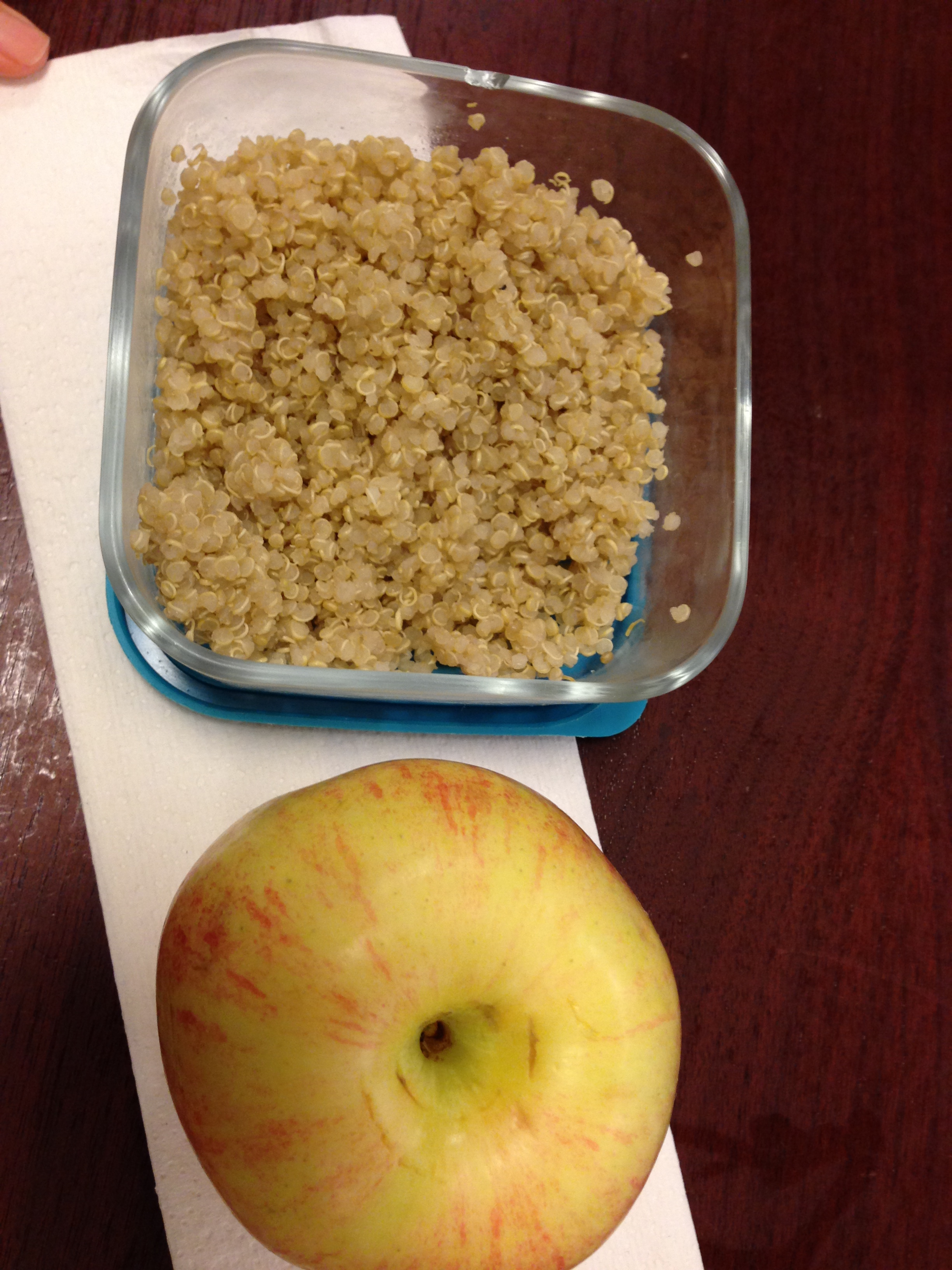 Quinoa & Gala Apple