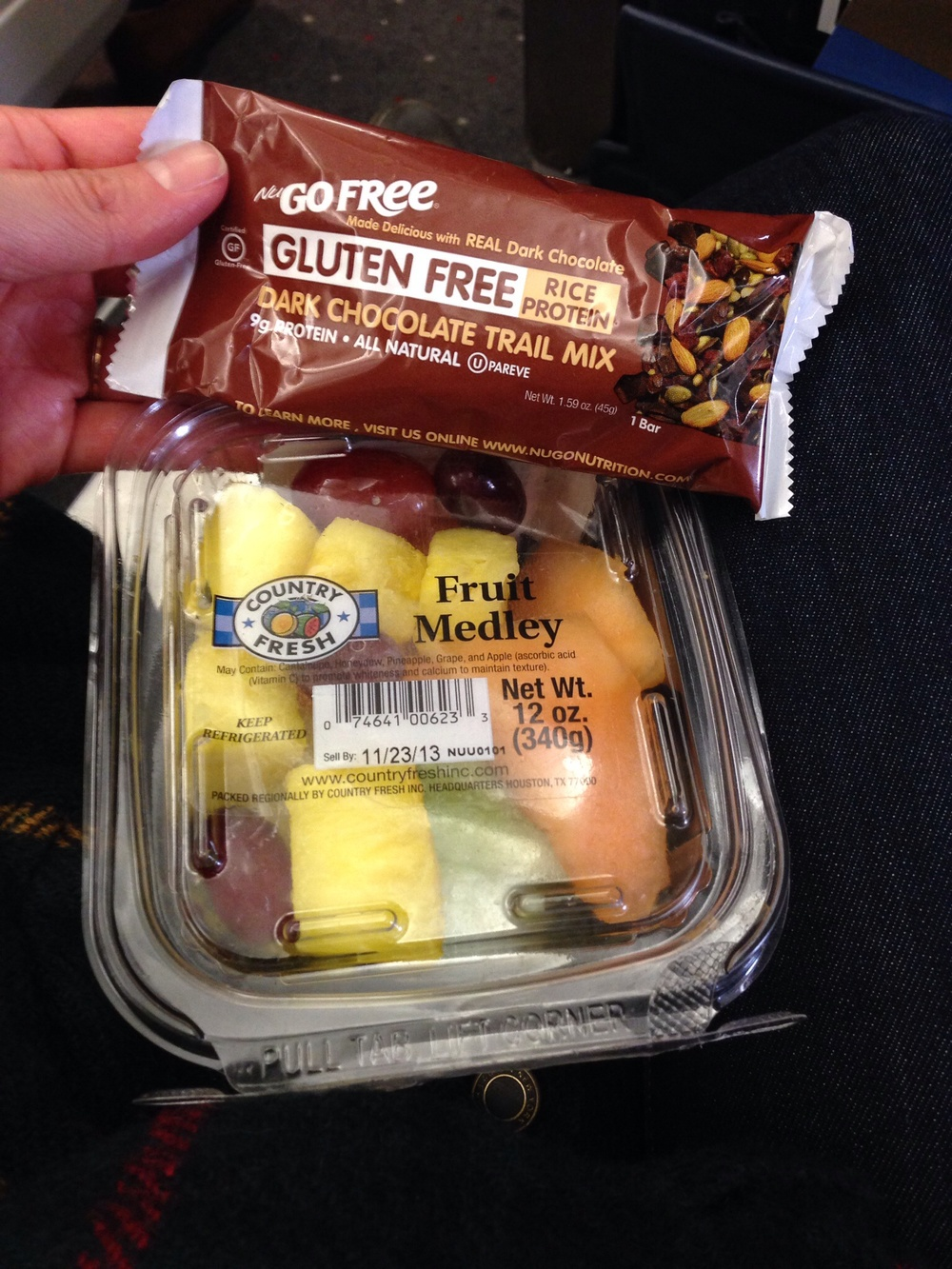 In flight snack