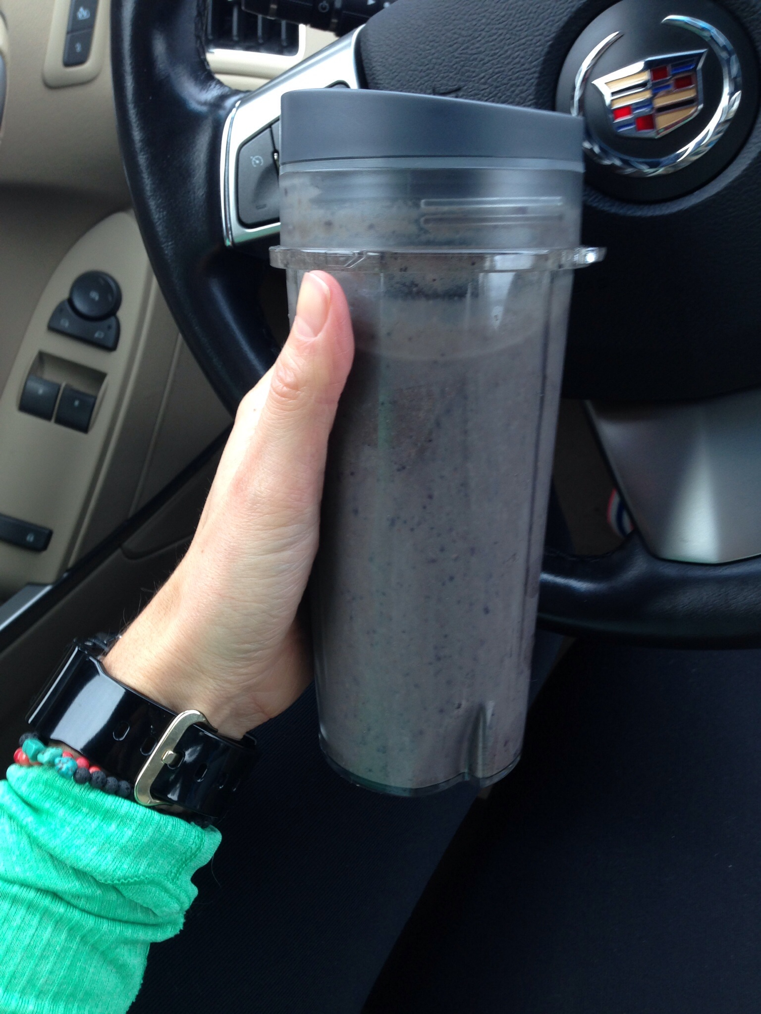 Banana, Blueberry Smoothie