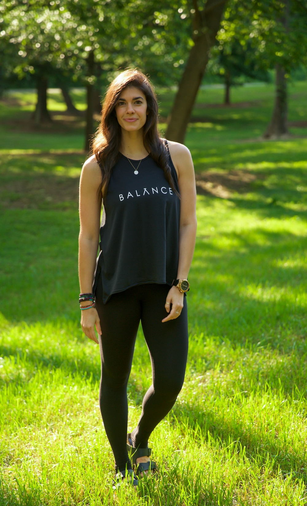 This Balance Tank From Peace Love World Has Been A Favorite Of Mine To Throw On Go For The Last Few Weeks As You Can See By The Two Pics Above
