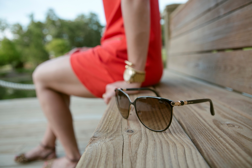 Jimmy Choo Sunglasses - Lauren Schwaiger - Style