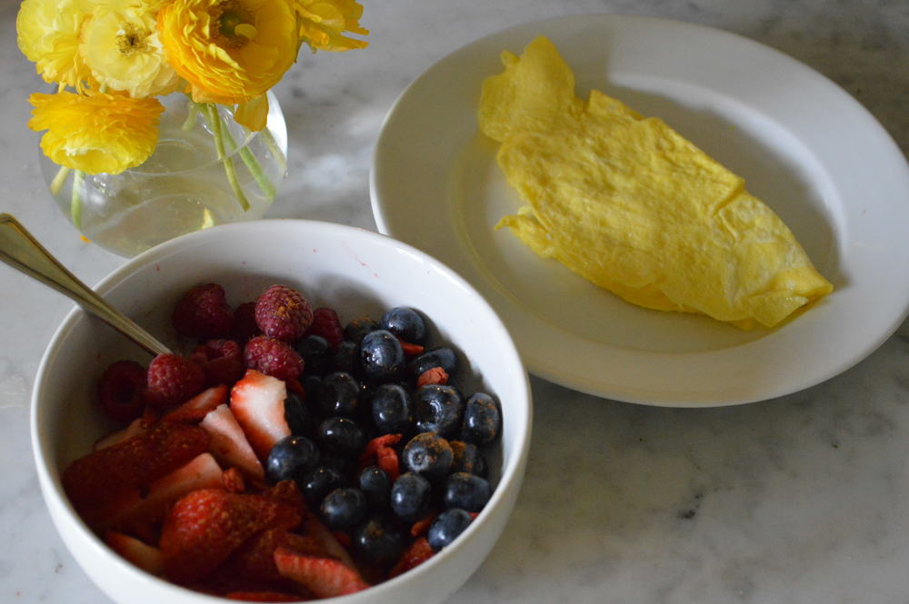 Eggs & Fruit