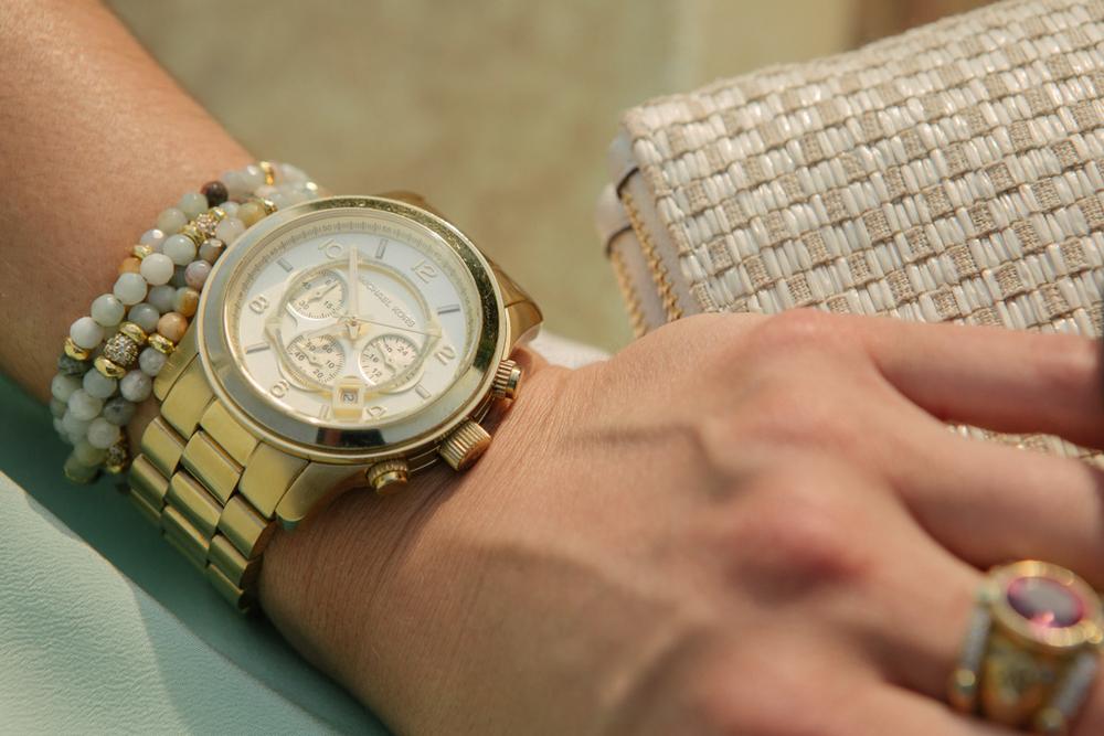 MK Watch - Gold - Lauren Schwaiger