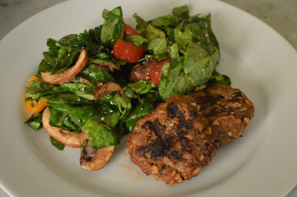 frikadellen & Salad