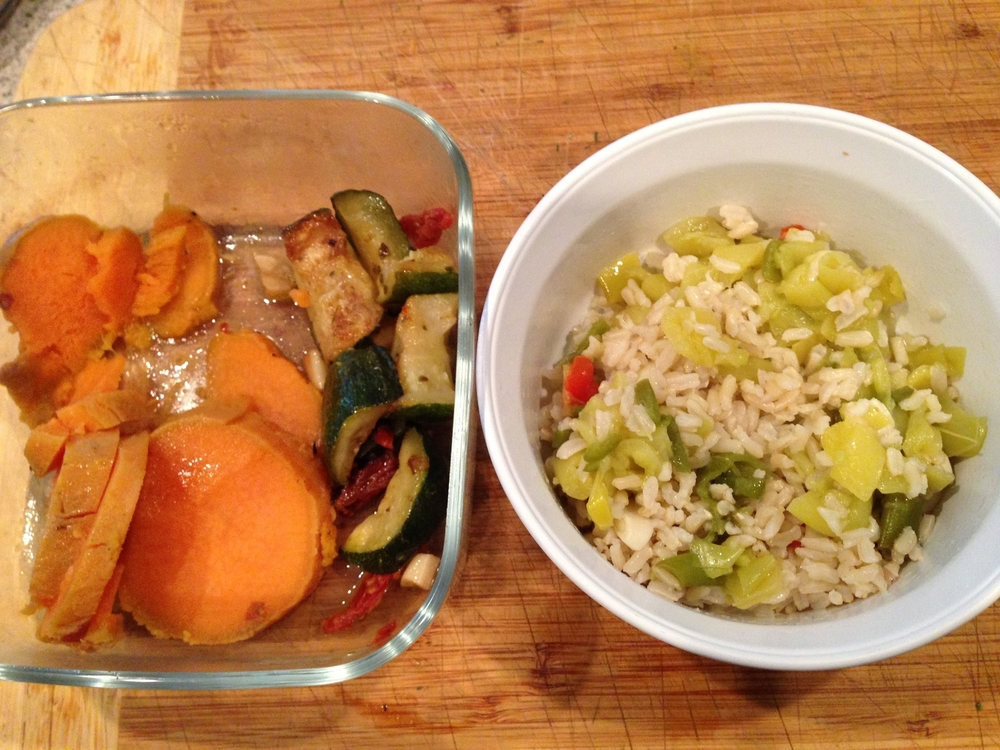 Brown rice & Veggies