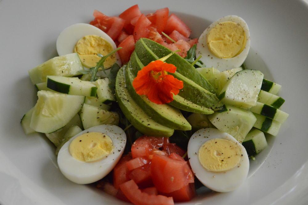 Garden Salad - LaurenSchwaiger.com