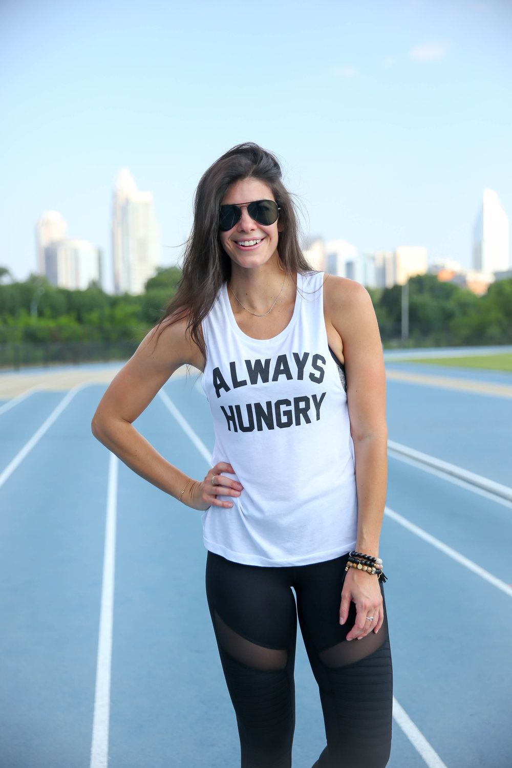 Always Hungry Tank + 3 Healthy Snacks to Keep You Fueled On-The-Go