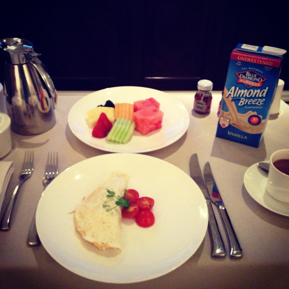 Capella Hotel Breakfast