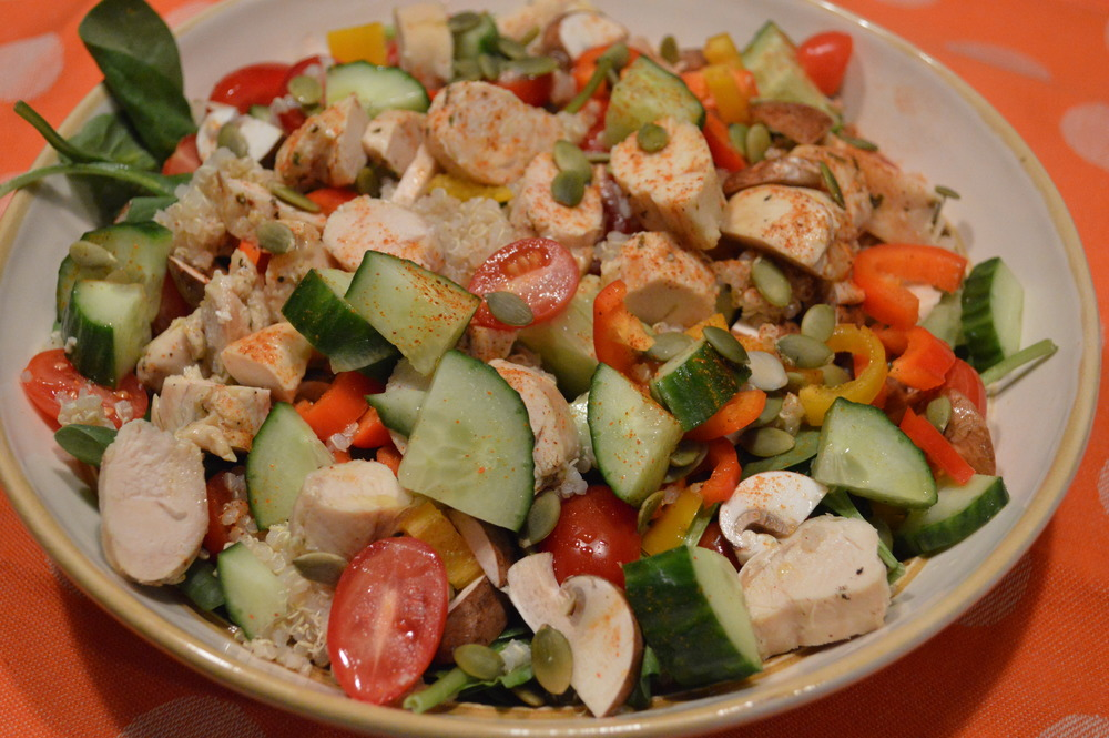 Chicken & Veggie Salad