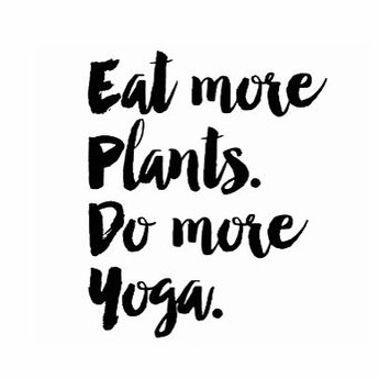 more yoga, please.