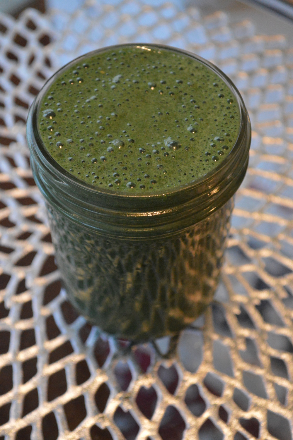 Spirulina Green Smoothie