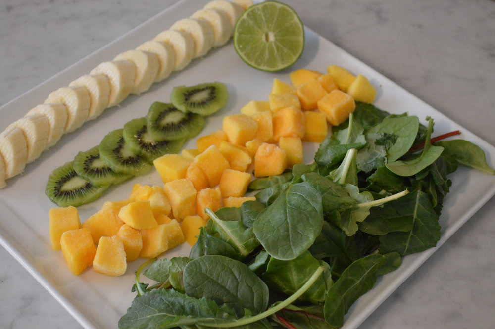 Mango Green Smoothie Recipe