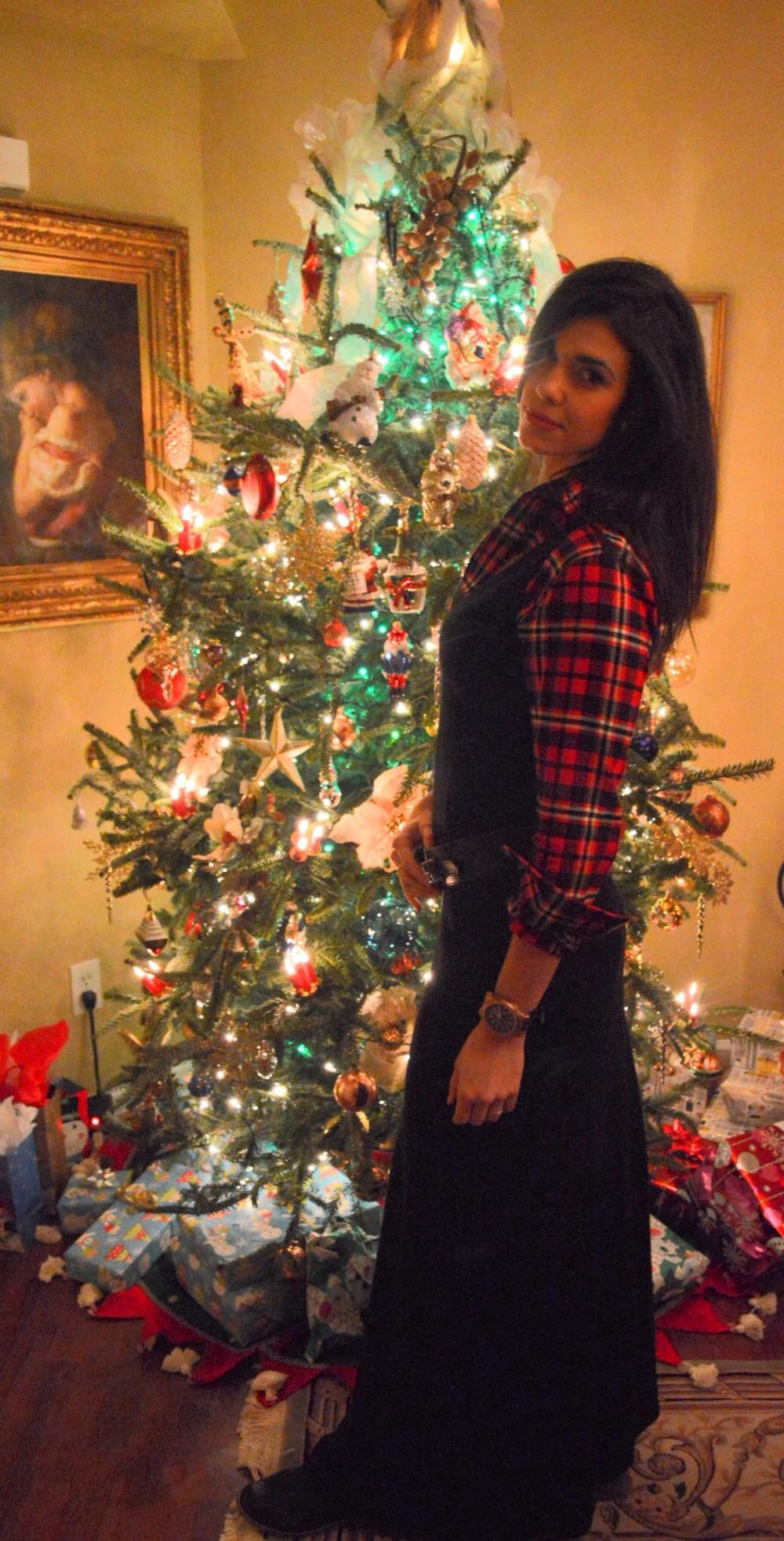Ralph Lauren Christmas Outfit