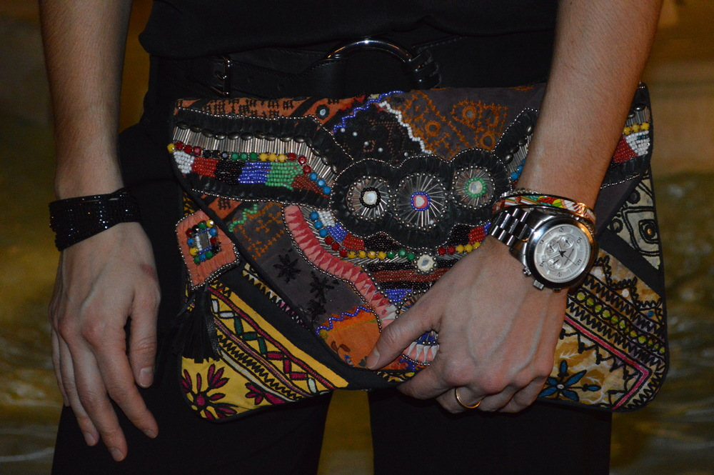 Antik Batik - Embellished Clutch