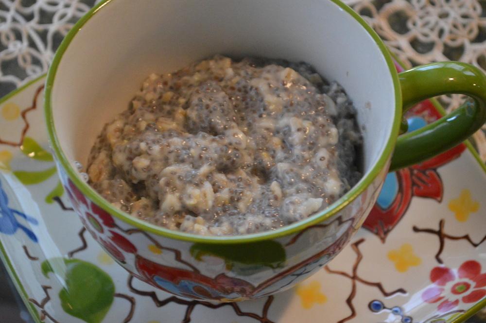 Oatmeal & Chia Seeds