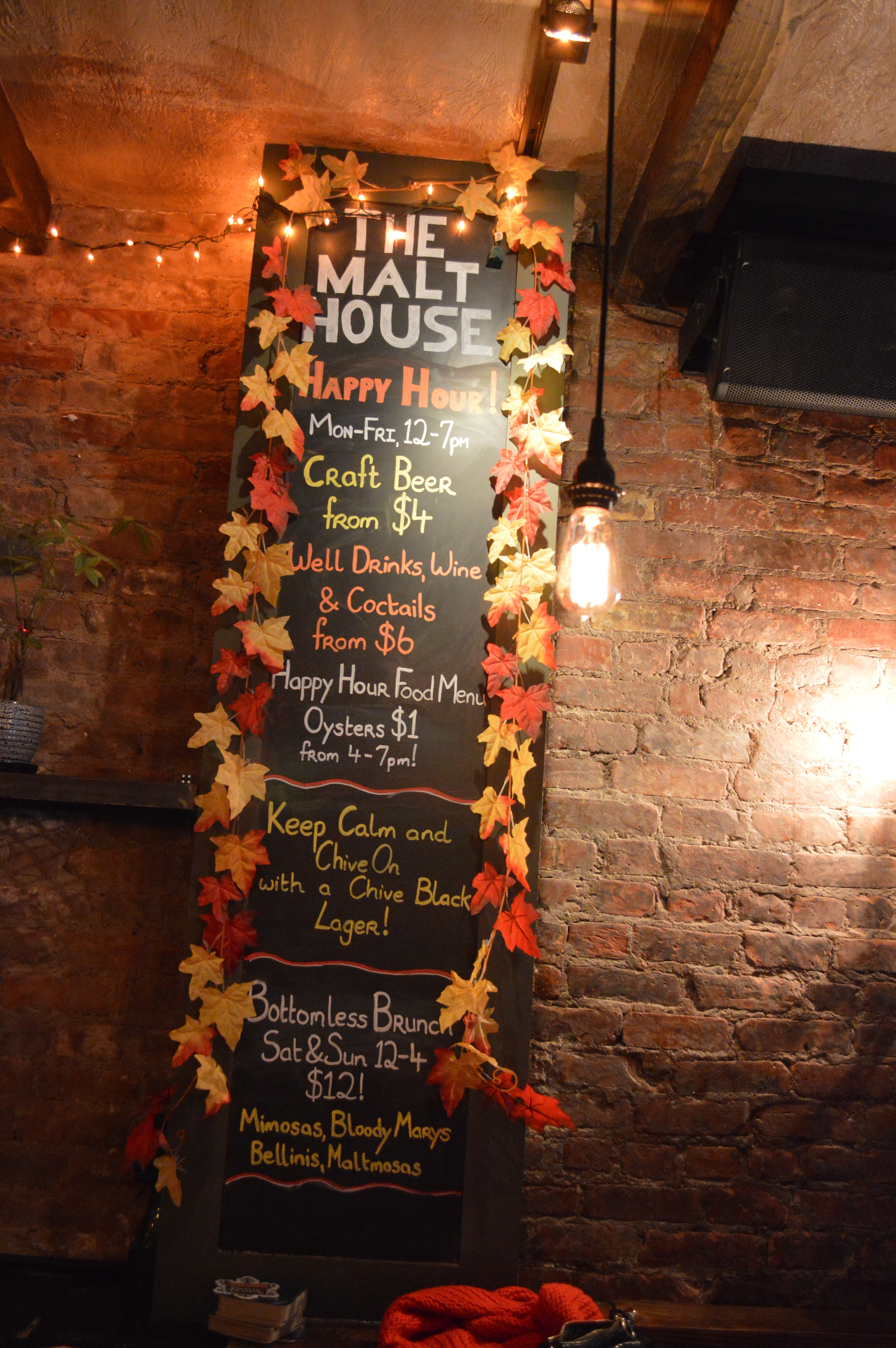 Malt House Brunch - Malt House NYC