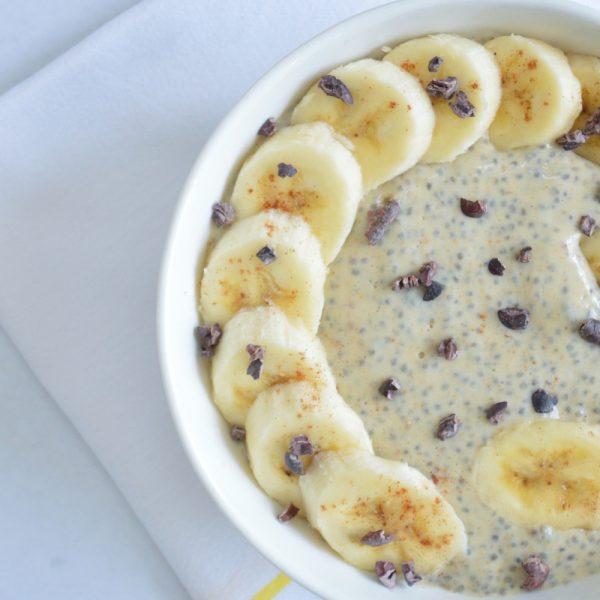 Chia Banana Pudding