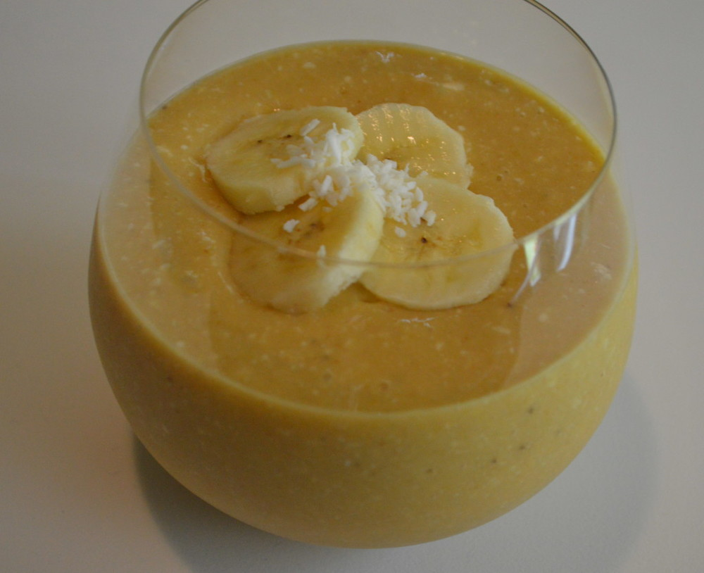 Banana + Mango Smoothie