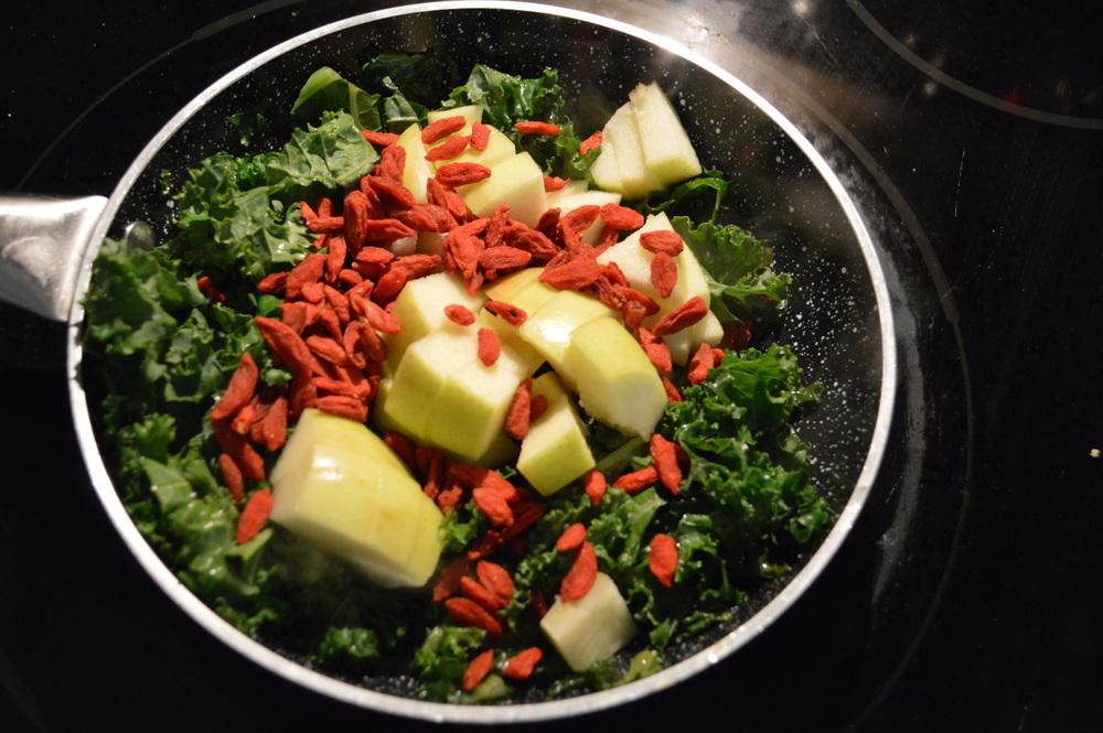 Kale, Apple & goji Berries