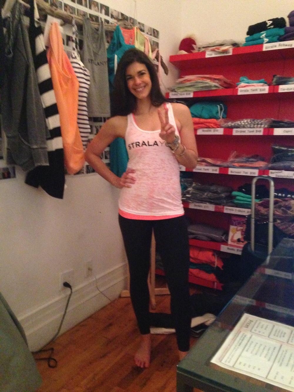 Strala Yoga - NYC - Lauren Schwaiger