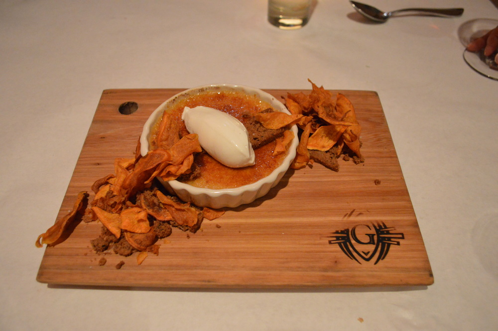 The Gage Sweet Potato Brulee