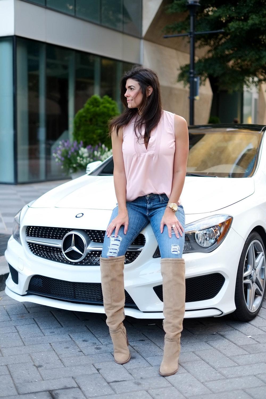 Mercedes-Benz CLA 250 Review - Lauren Schwaiger
