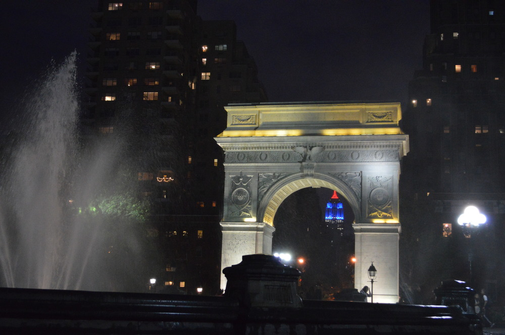 Washington Sq Nighttime