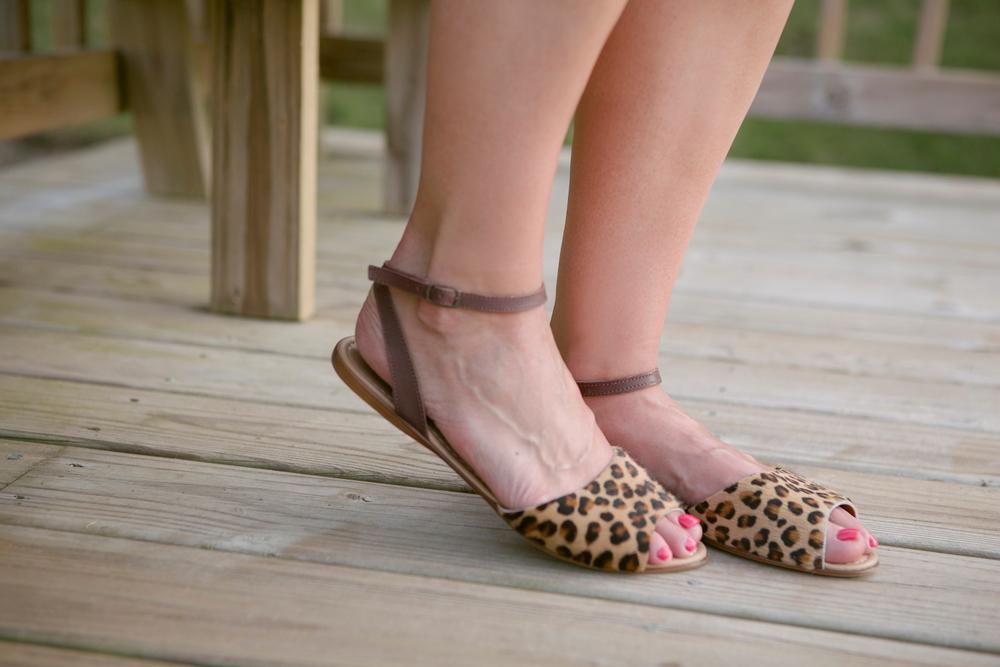 Seychelles - Leopard Sandals