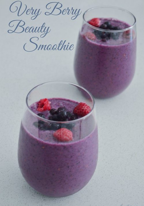 very berry beauty smoothie - Laurens Schwaiger healthy living blog