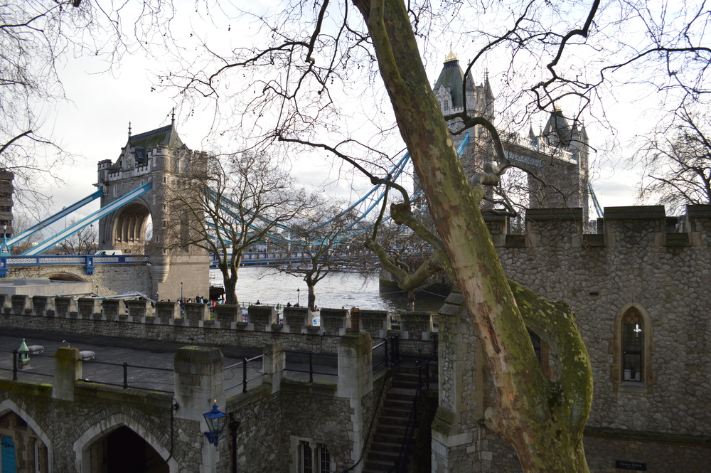 Tower of London - Tower Bridge