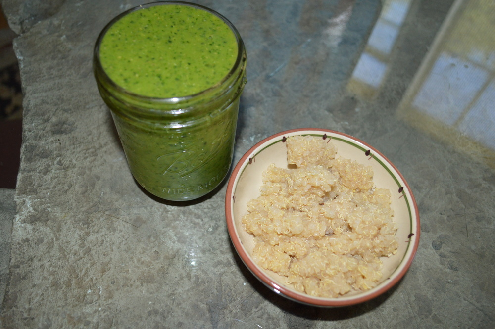 Green Smoothie & Quinoa