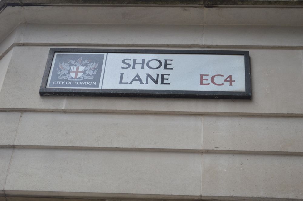 Shoe Lane - London