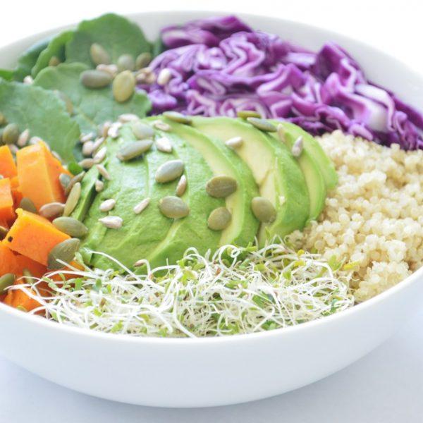Veggie Quinoa Power Salad