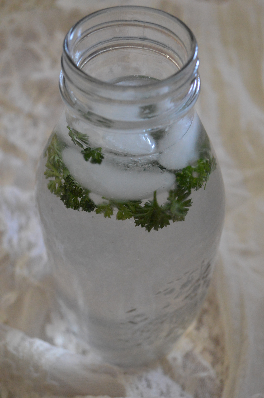Lemon Water & Parsley