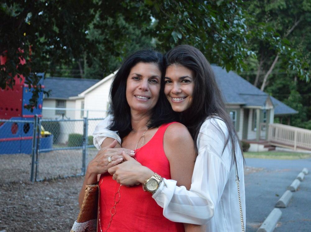 LS & momma