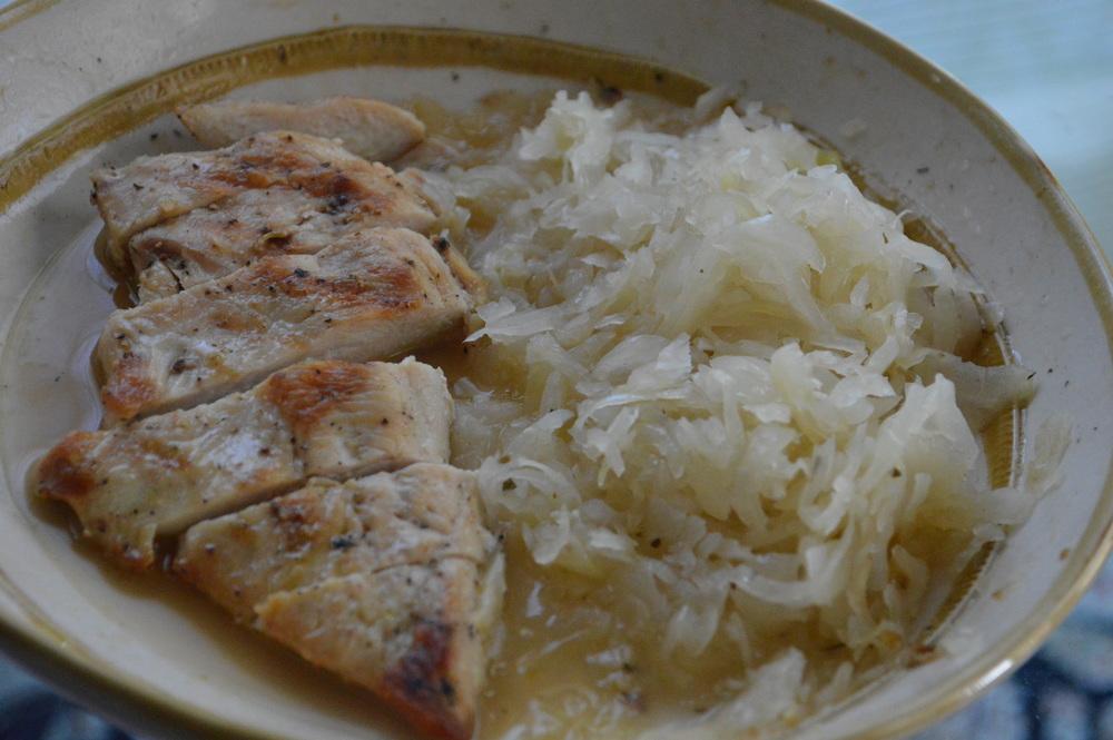 Chicken + Sauerkraut
