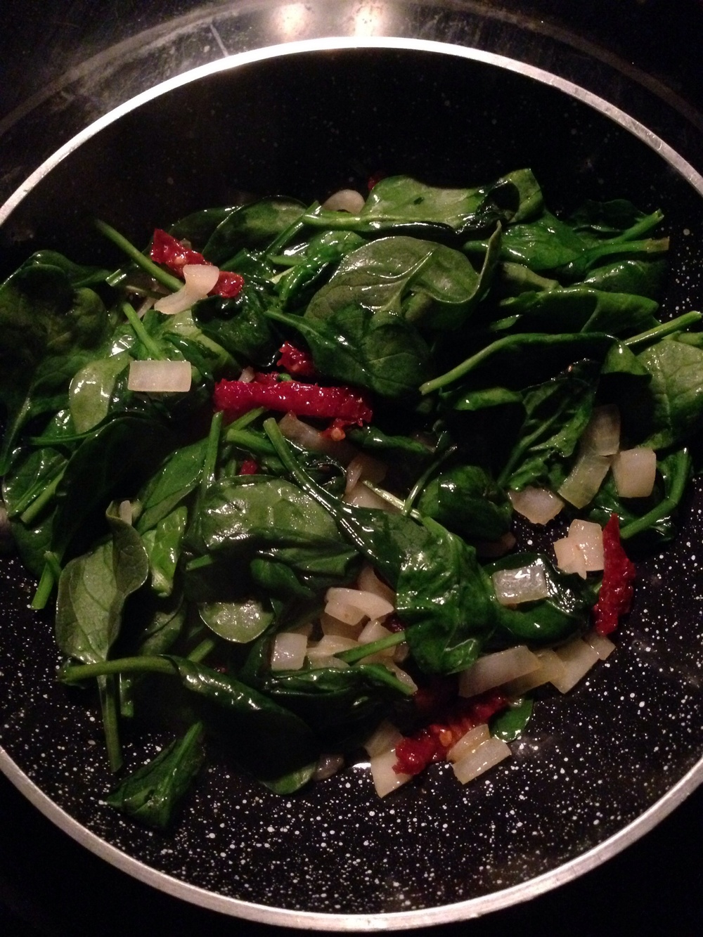 BYO Omelette: Spinach