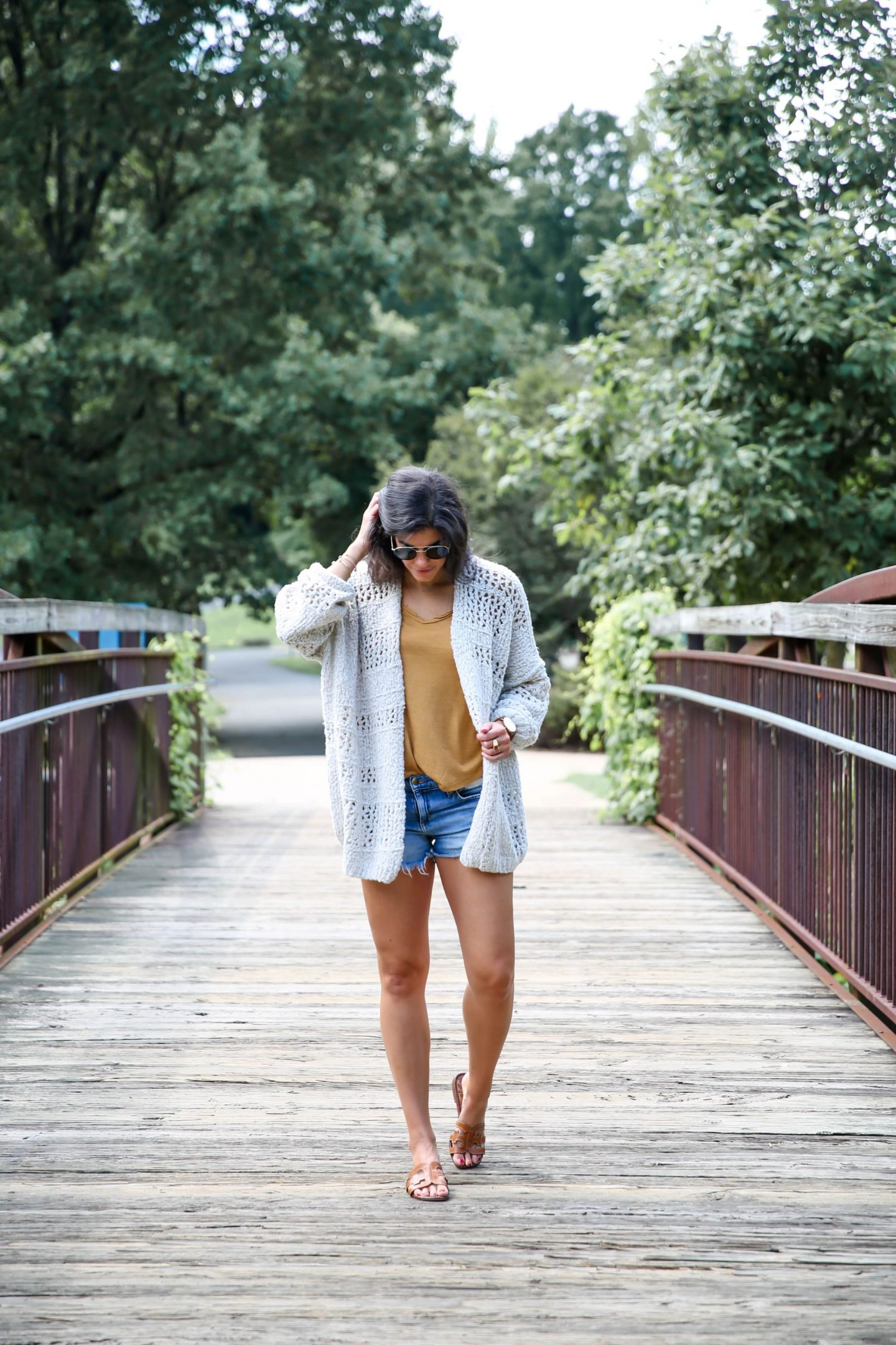 transitional style - casual late summer outfit - Lauren schwaiger